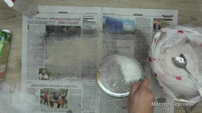 How to make a plaster bandage at home for handicrafts. EXPERIMENT
