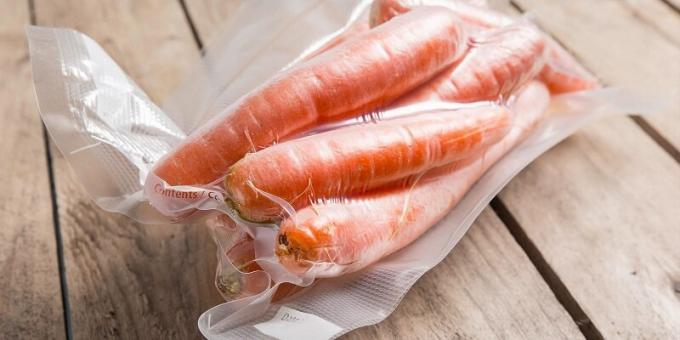 How to store carrots - a proven way