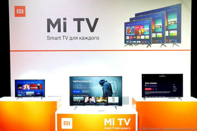 Xiaomi TVs are now in Russia. And they are cheaper than all