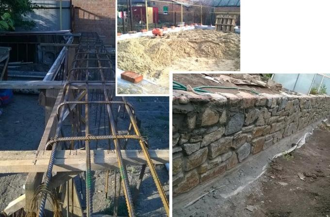 The process of laying his own house from A to Z. Zabutovochny brick and ceramic block.