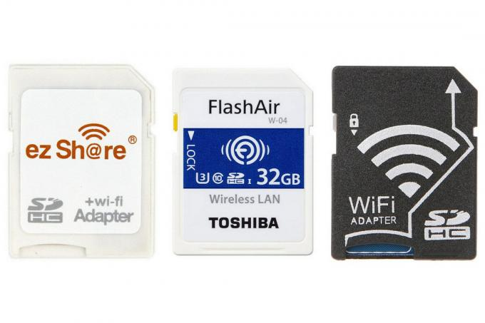 SD card with WIFI