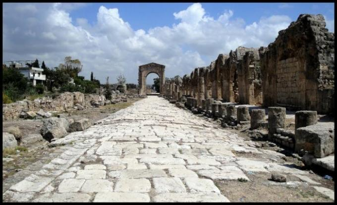 The Romans were able to build a road that exists to this day