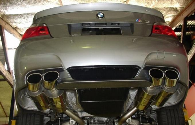 Why do some cars put two exhaust pipes.