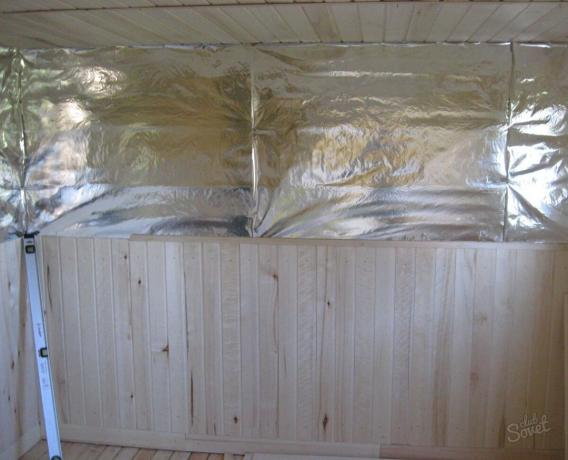 How to insulate the steam room: simple instruction