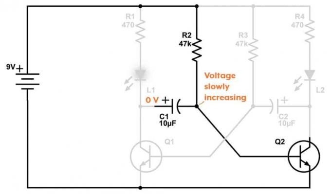 As operate circuit unstable (astabilnogo) multivibrator