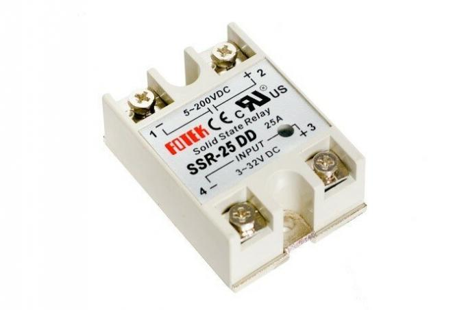 Picture 1. Constructive design of solid state relay SSR-25 Series