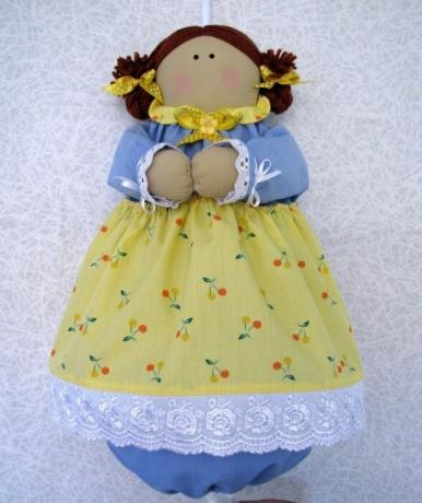 Doll paketnitsu you can buy or make your own hands. / Photo: postila.ru.