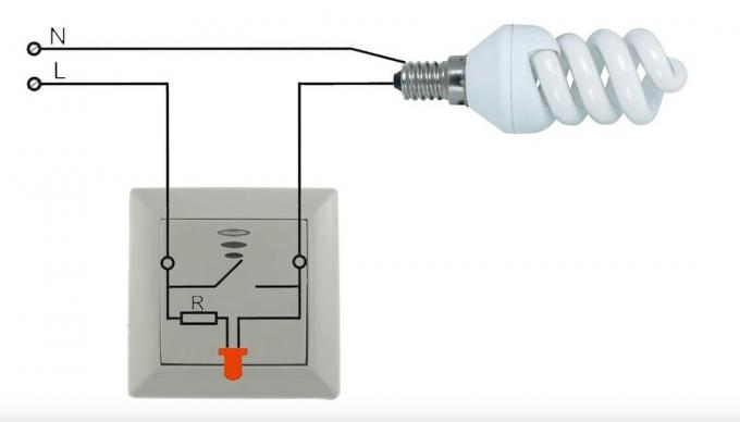 Illuminated power switch: Connection Troubleshooting
