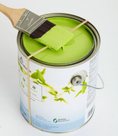 Why pull the rubber band on the jar of paint and other stealth technician